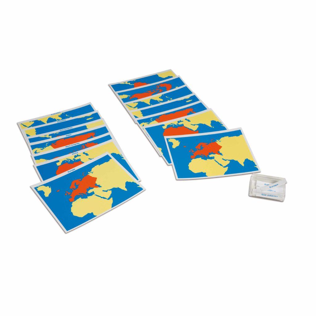 Cards Of The World Parts (German version)-produs original Nienhuis Montessori-prin Didactopia by Evertoys