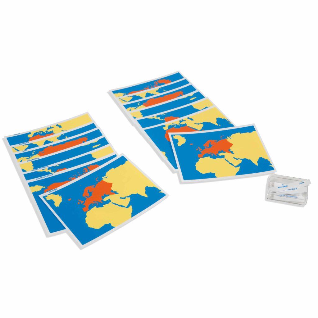 Cards Of The World Parts-produs original Nienhuis Montessori-prin Didactopia by Evertoys