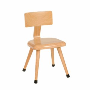 Chair C3: Yellow-produs original Nienhuis Montessori-prin Didactopia by Evertoys