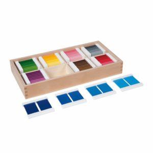 Color Box Of 32 Pairs-produs original Nienhuis Montessori-prin Didactopia by Evertoys