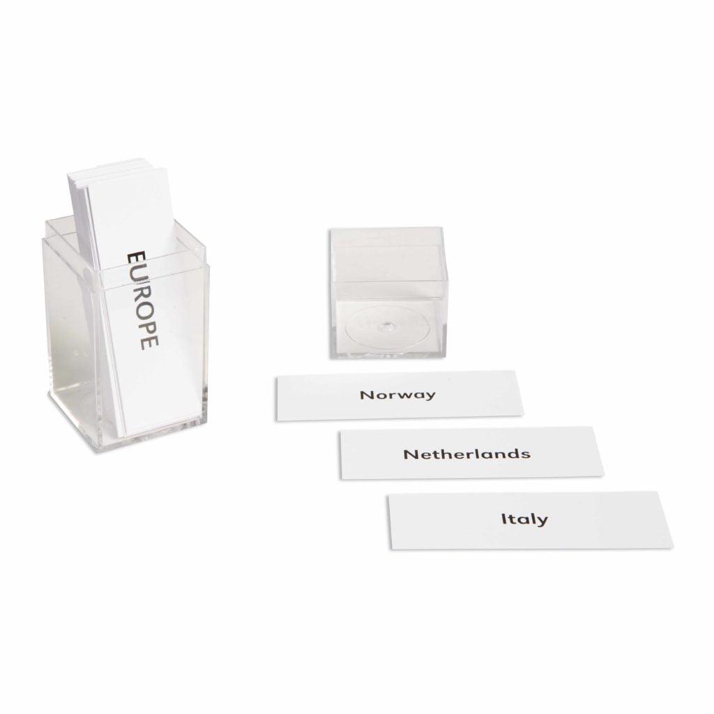 Europe: Labels-produs original Nienhuis Montessori-prin Didactopia by Evertoys