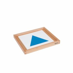 Geometric Form Cards For The Demonstration Tray-produs original Nienhuis Montessori-prin Didactopia by Evertoys