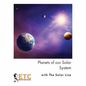 Giant Solar System Line-produs original Nienhuis Montessori-prin Didactopia by Evertoys