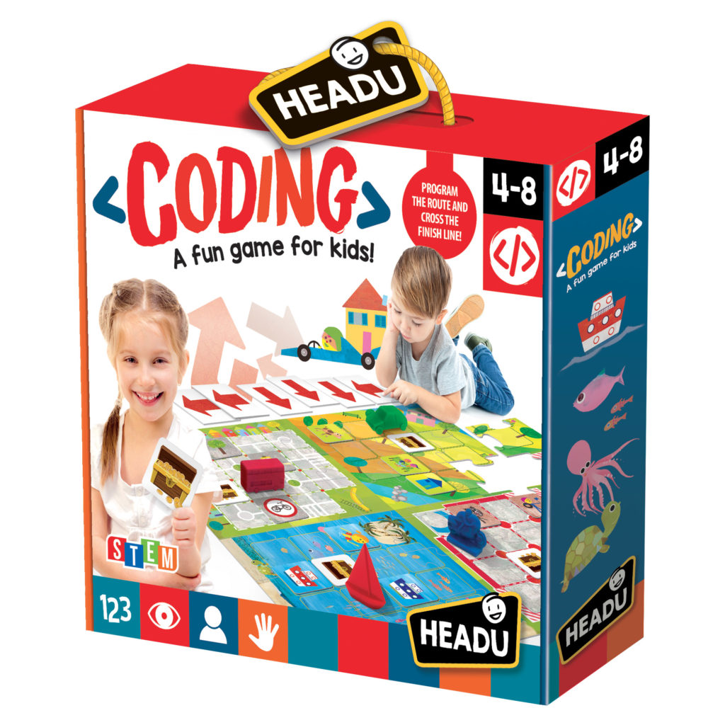 Joc De Codificare - Headu - prin Didactopia by Evertoys