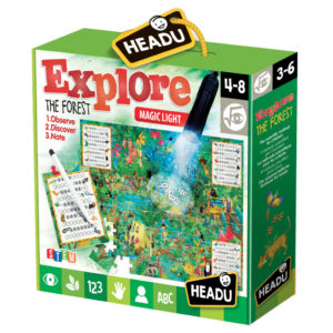 Joc Explorati Padurea - Headu - prin Didactopia by Evertoys
