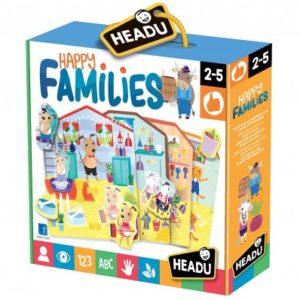 Joc Familiile Fericite - Headu - prin Didactopia by Evertoys