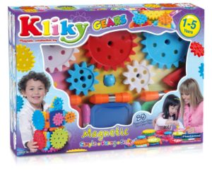 Kliky - Set Magnetic Sa Invatam Mecanismul - Supermag - prin Didactopia by Evertoys