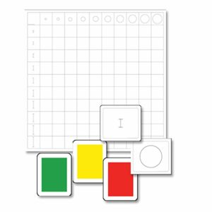 Knobless Cylinder Chart With Cards-produs original Nienhuis Montessori-prin Didactopia by Evertoys