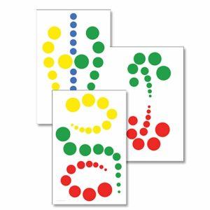 Knobless Cylinder Patterns-produs original Nienhuis Montessori-prin Didactopia by Evertoys