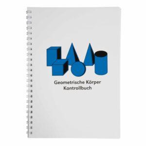 Kontrollbuch für die geometrischen Körper (German version)-produs original Nienhuis Montessori-prin Didactopia by Evertoys