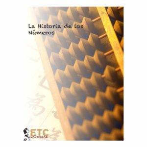 La Historia de los Números-produs original Nienhuis Montessori-prin Didactopia by Evertoys