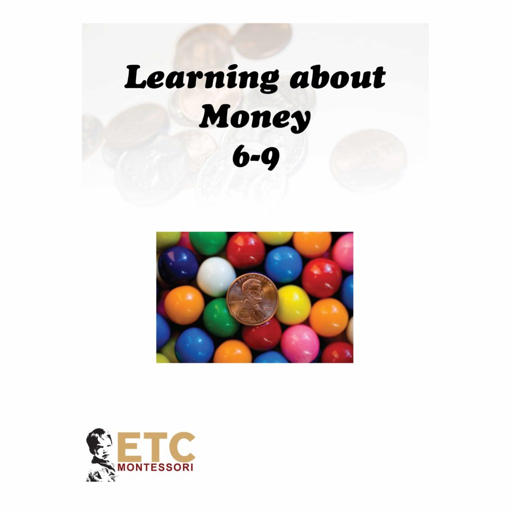 Learning About Money Level 6-9-produs original Nienhuis Montessori-prin Didactopia by Evertoys