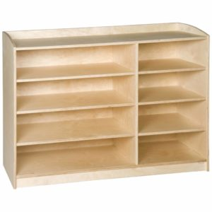Material Cabinet: 8 Compartments (101 cm)-produs original Nienhuis Montessori-prin Didactopia by Evertoys