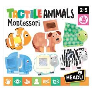 Montessori Animale Senzoriale - Headu - prin Didactopia by Evertoys