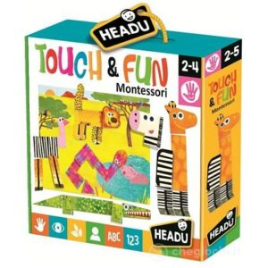 Montessori - Atinge si Distreaza-te - Headu - prin Didactopia by Evertoys