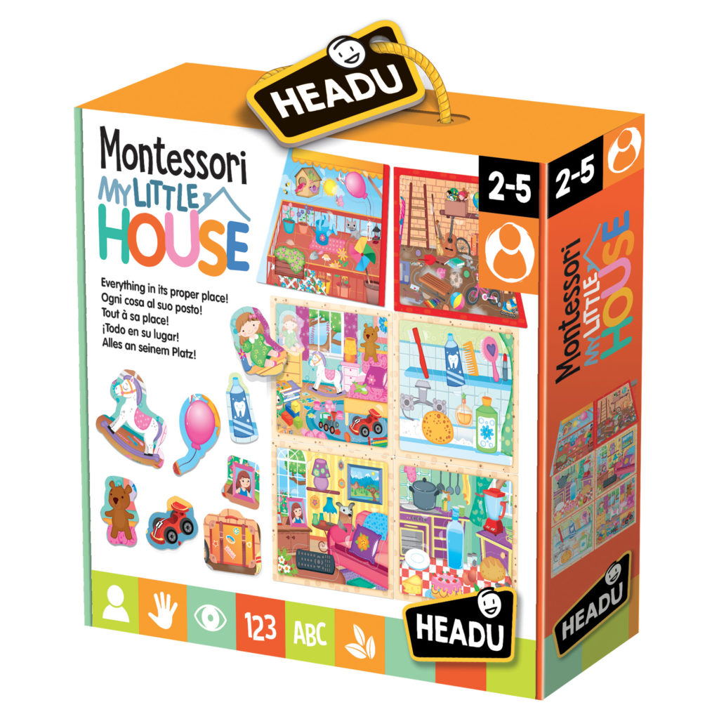 Montessori - Casuta Mea - Headu - prin Didactopia by Evertoys