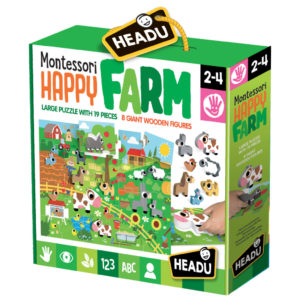 Montessori Ferma Fericita - Headu - prin Didactopia by Evertoys