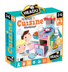 Montessori - Prima mea Bucatarie - Headu - prin Didactopia by Evertoys