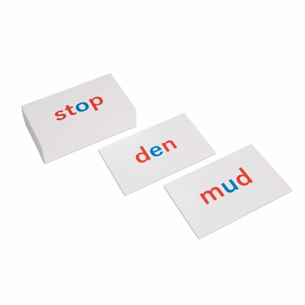 Phonetic Reading Cards-produs original Nienhuis Montessori-prin Didactopia by Evertoys
