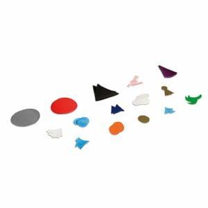 Plastic Grammar Symbols Replacement Set-produs original Nienhuis Montessori-prin Didactopia by Evertoys