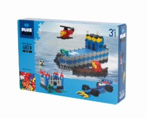 Plus Plus Basic 3 In 1 - 480 Piese - Plus Plus - prin Didactopia by Evertoys
