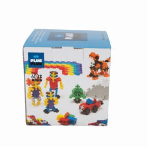 Plus Plus Basic - 600 Piese/Set - Plus Plus - prin Didactopia by Evertoys