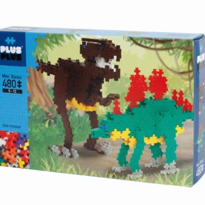 Plus Plus Basic Dinozauri - 480 Pcs - Plus Plus - prin Didactopia by Evertoys