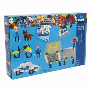 Plus Plus Basic Politie - 760 Piese - Plus Plus - prin Didactopia by Evertoys