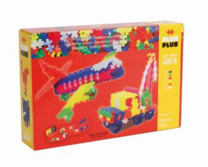 Plus Plus Neon 3 In 1 - 480 Piese - Plus Plus - prin Didactopia by Evertoys
