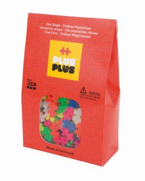 Plus Plus Neon - 300 Piese/Pachet - Plus Plus - prin Didactopia by Evertoys