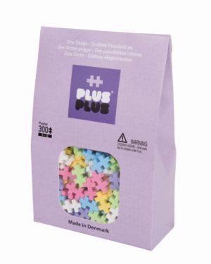 Plus Plus Pastel - 300 Piese/Pachet - Plus Plus - prin Didactopia by Evertoys