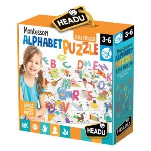 Puzzle Alfabet 3D - Headu - prin Didactopia by Evertoys
