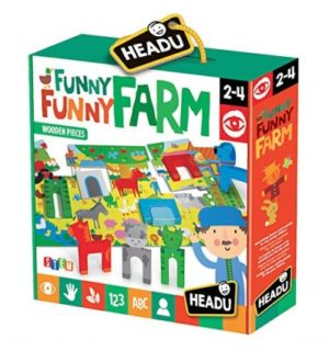 Puzzle Ferma Fericita - Headu - prin Didactopia by Evertoys