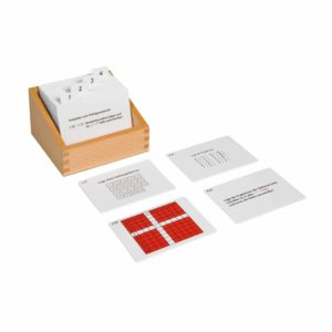 Pythagoras Board Activity Set (German version)-produs original Nienhuis Montessori-prin Didactopia by Evertoys