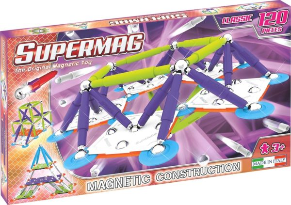 Set Constructie Classic Trendy 120P - Supermag - prin Didactopia by Evertoys
