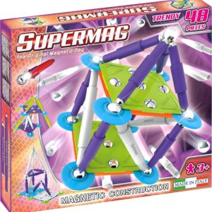 Set Constructie Classic Trendy 48 P - Supermag - prin Didactopia by Evertoys