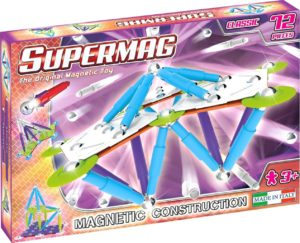 Set Constructie Classic Trendy 72 P - Supermag - prin Didactopia by Evertoys