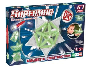 Set Constructie Luminos 67 Piese - Supermag - prin Didactopia by Evertoys
