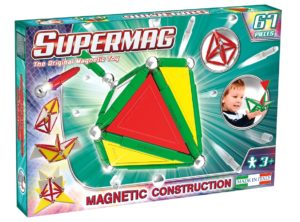 Set Constructie Primary 67 Piese - Supermag - prin Didactopia by Evertoys