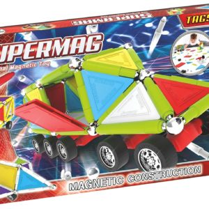Set Constructie Tags Wheels 143 Pcs - Supermag - prin Didactopia by Evertoys