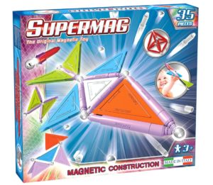 Set Constructie Trendy 35 Piese - Supermag - prin Didactopia by Evertoys