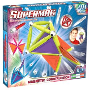 Set Constructie Trendy 48 Piese - Supermag - prin Didactopia by Evertoys
