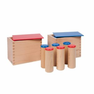Sound Boxes-produs original Nienhuis Montessori-prin Didactopia by Evertoys
