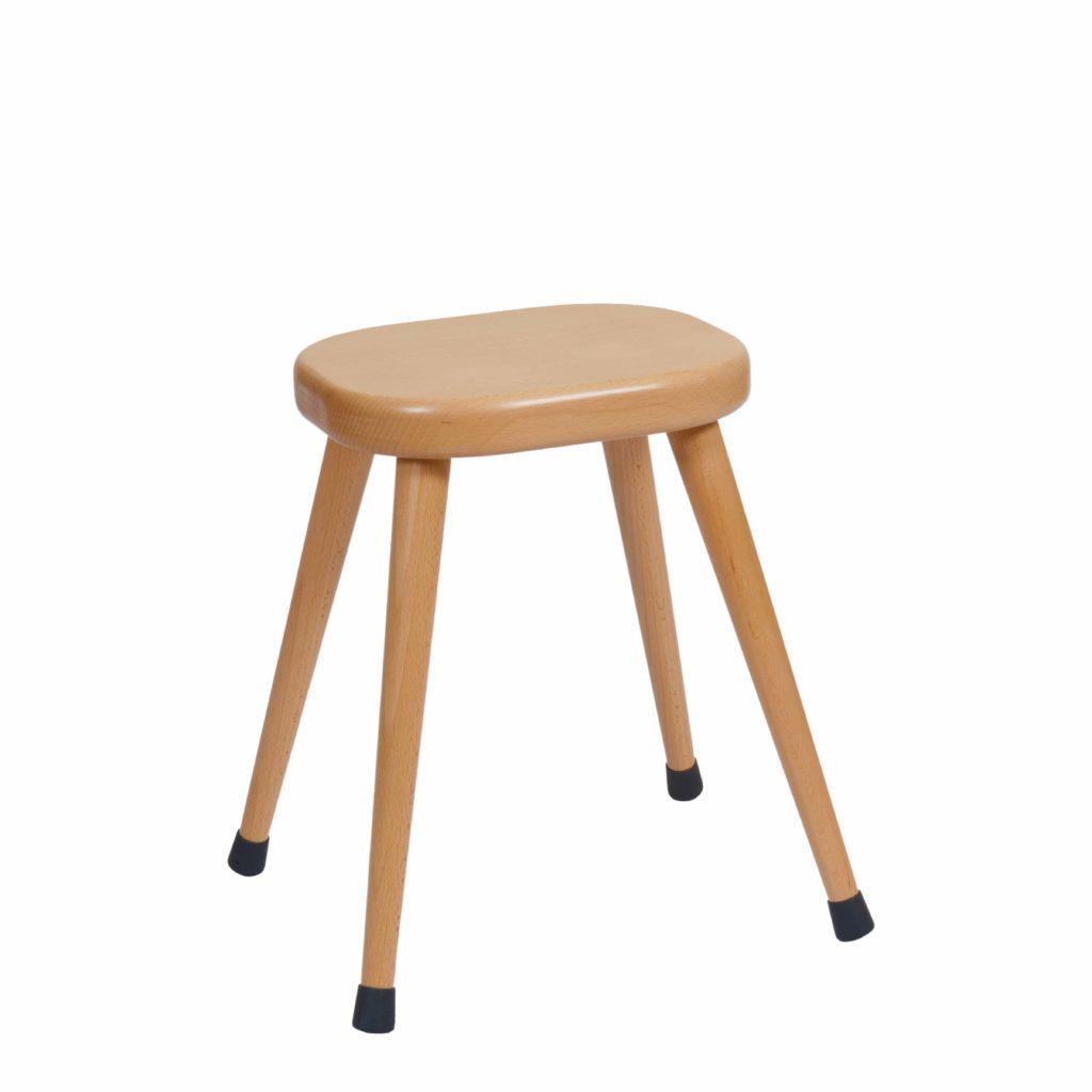 Stool E5: Green-produs original Nienhuis Montessori-prin Didactopia by Evertoys
