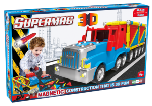 Supermag 3D - Jucarie Cu Magnet Camion - Supermag - prin Didactopia by Evertoys