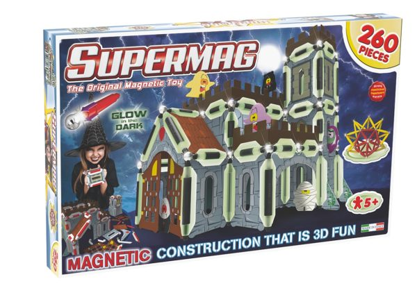 Supermag 3D-Jucarie Cu Magnet Castel - Supermag - prin Didactopia by Evertoys