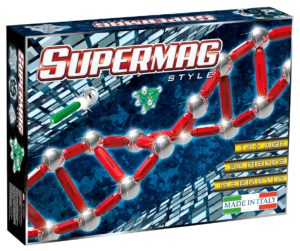 Supermag Style - Set Constructie 50 Piese - Supermag - prin Didactopia by Evertoys