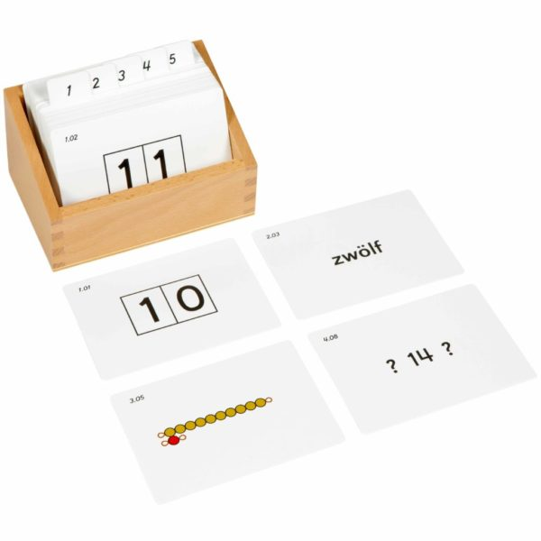 Teen Boards Activity Set (German version)-produs original Nienhuis Montessori-prin Didactopia by Evertoys