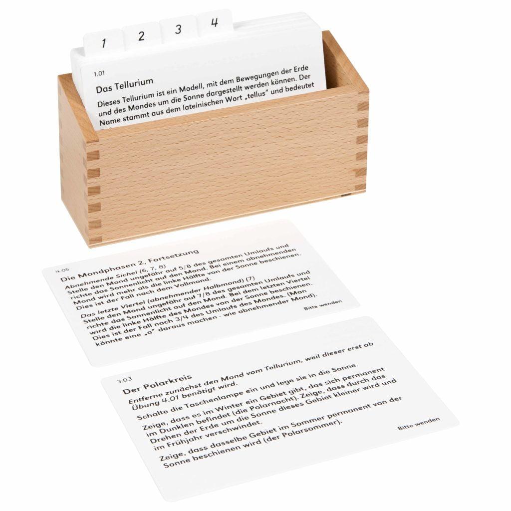 Tellurium Activity Set (German version)-produs original Nienhuis Montessori-prin Didactopia by Evertoys