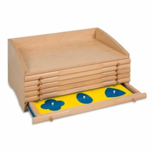 The Geometric Cabinet-produs original Nienhuis Montessori-prin Didactopia by Evertoys